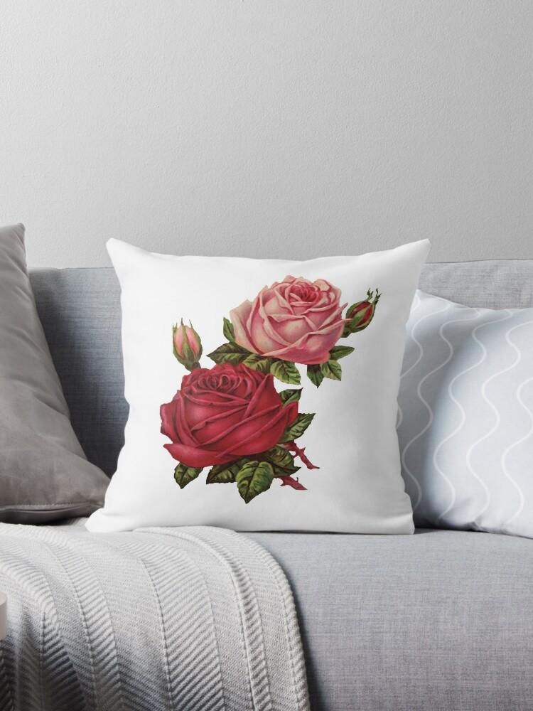 Vintage roses 4. by Alexandra Dahl