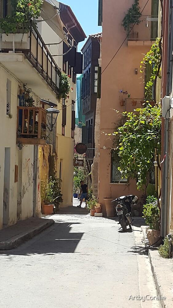 Beautiful Chania (Xavia) Crete by ArtbyCoralie