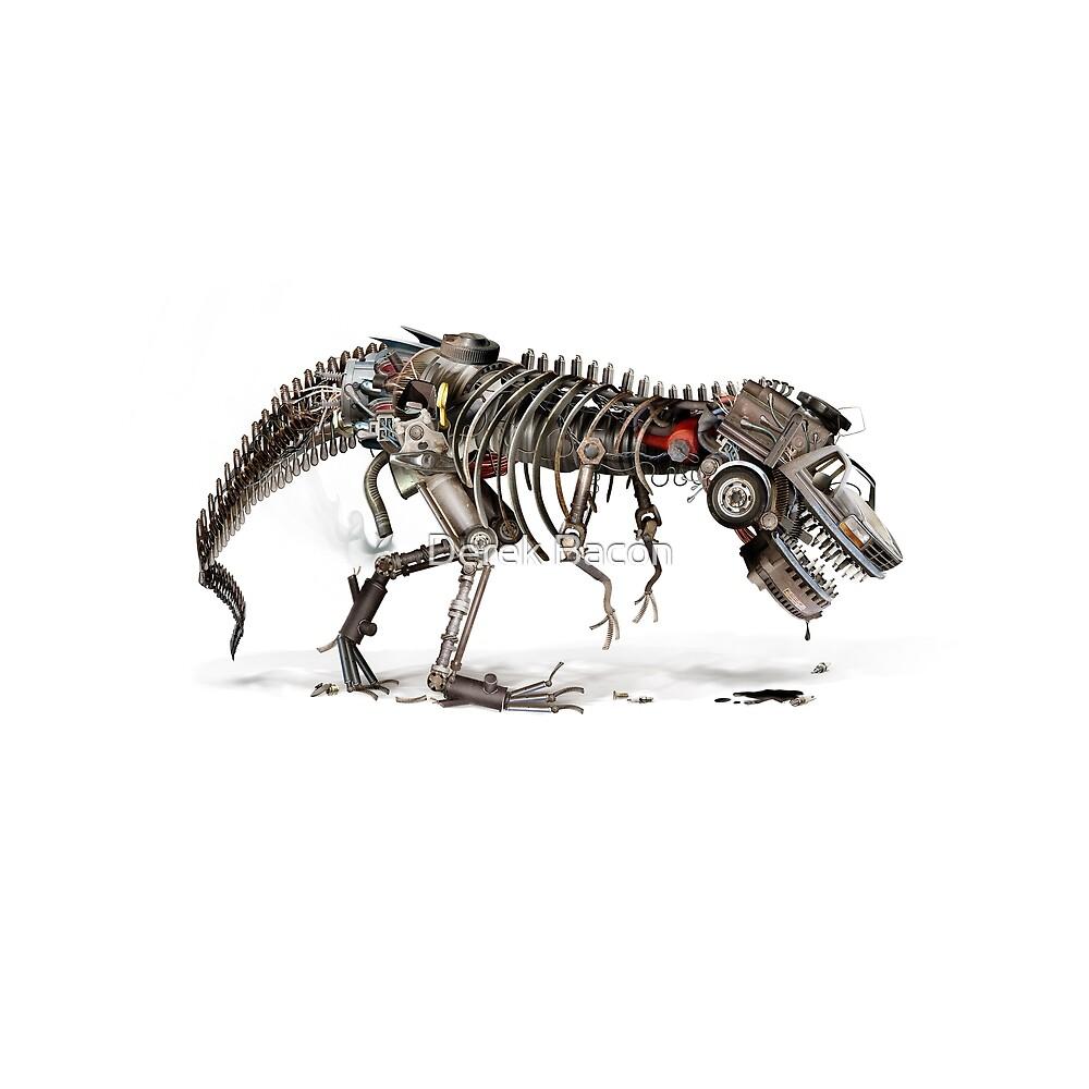 Detroitosaurus Wrecks by Derek Bacon