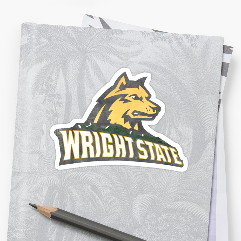 Wright State Watercolor Logo by Audrey Torrence