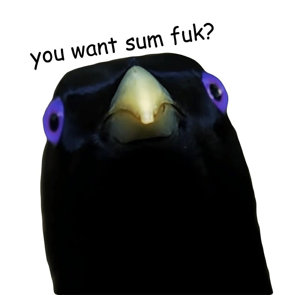 You Want Sum Fuk? by ashejia