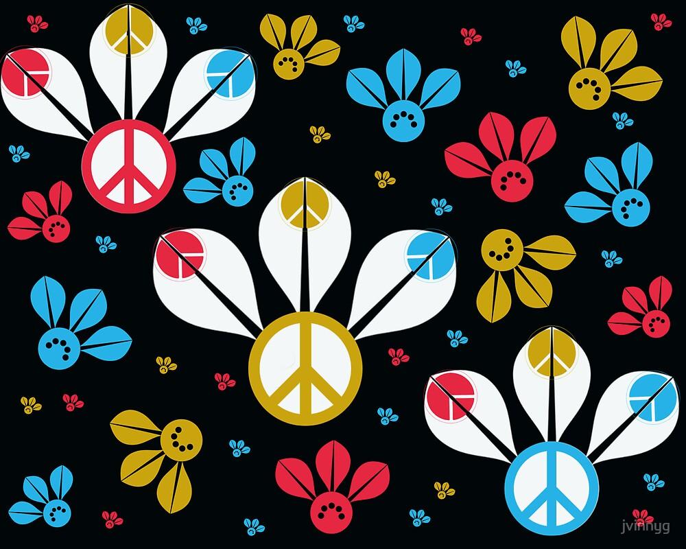 peace bees by jvinnyg