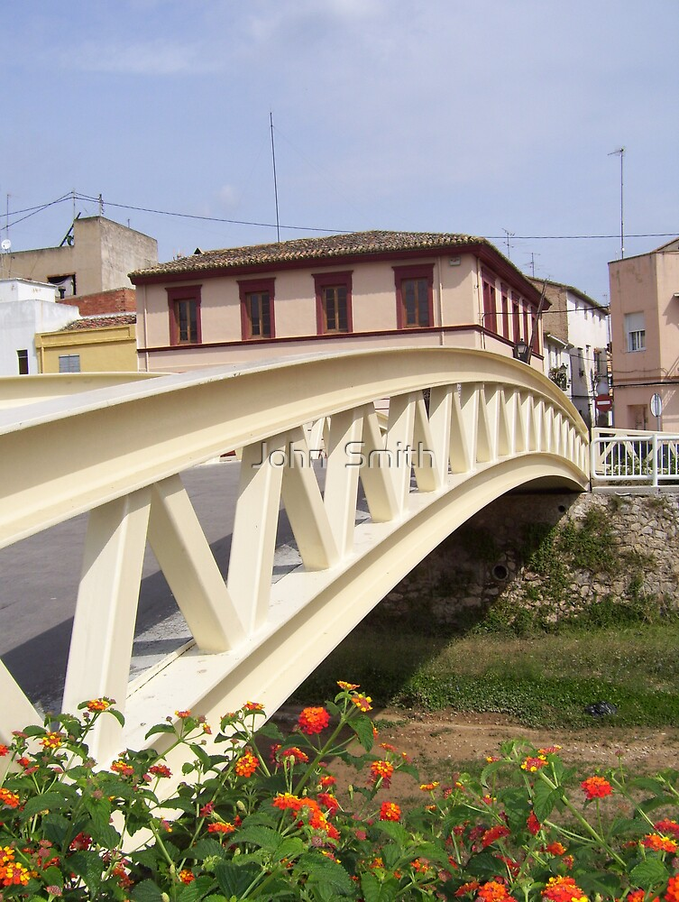 Bridge at Beniopa. by John  Smith