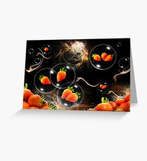strawberry atmosphere Greeting Card
