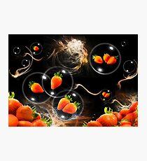 strawberry atmosphere Photographic Print