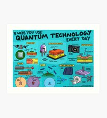 5 ways you use quantum technology every day Art Print