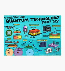 5 ways you use quantum technology every day Photographic Print