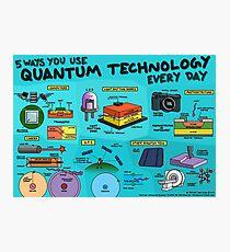 5 Wege, wie Sie jeden Tag mit Quantentechnologie arbeiten Fotodruck