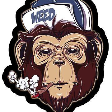swag monkey  by nekolaimonev