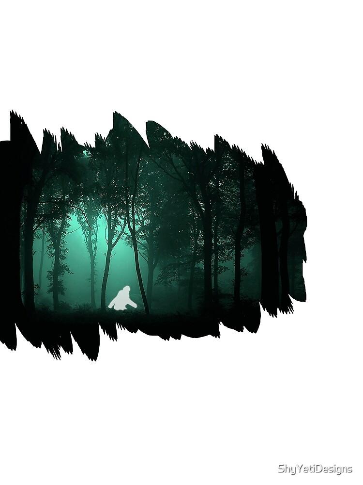 Bigfoot by ShyYetiDesigns