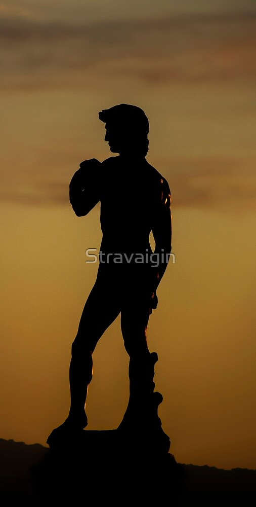 David, Piazzale Michelangelo, Florence, Tuscany, Italy by Stravaigin