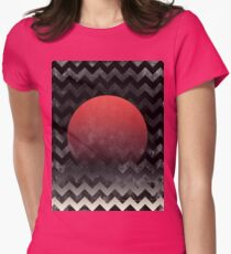 Sun in Waves - abstract T-Shirt
