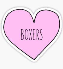 Boxers Sticker