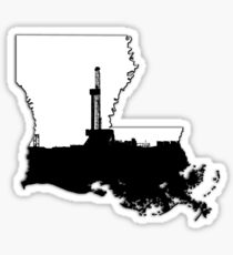 Louisiana Oil Sticker