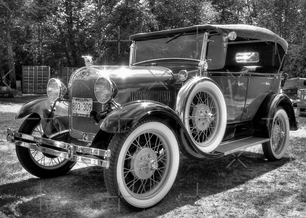 Ford Model A - 1929 by Erniesartwork