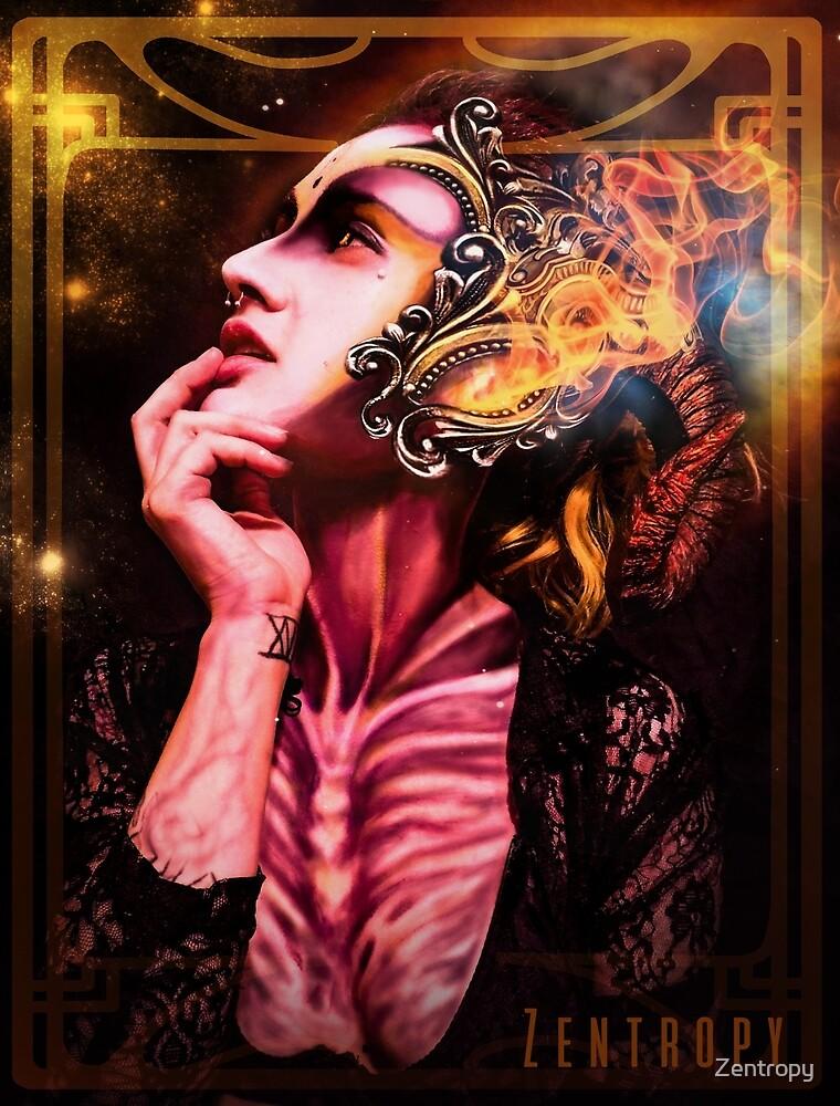 Aries Goddess of war by Zentropy