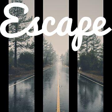 Escape, down the Road. by artazev2