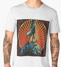 Grateful dead head blotter poster Men's Premium T-Shirt