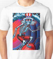dead head surfer art T-Shirt