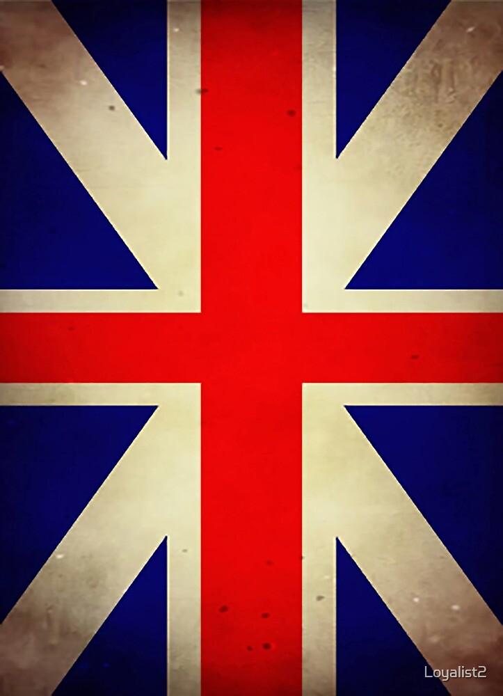 Grunge Loyalist Flag by Loyalist2