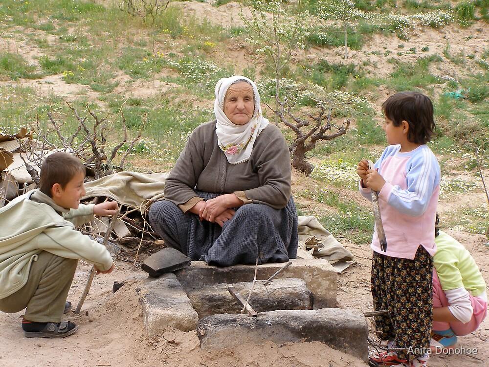 Grandmother in Kapadokia by Anita Donohoe