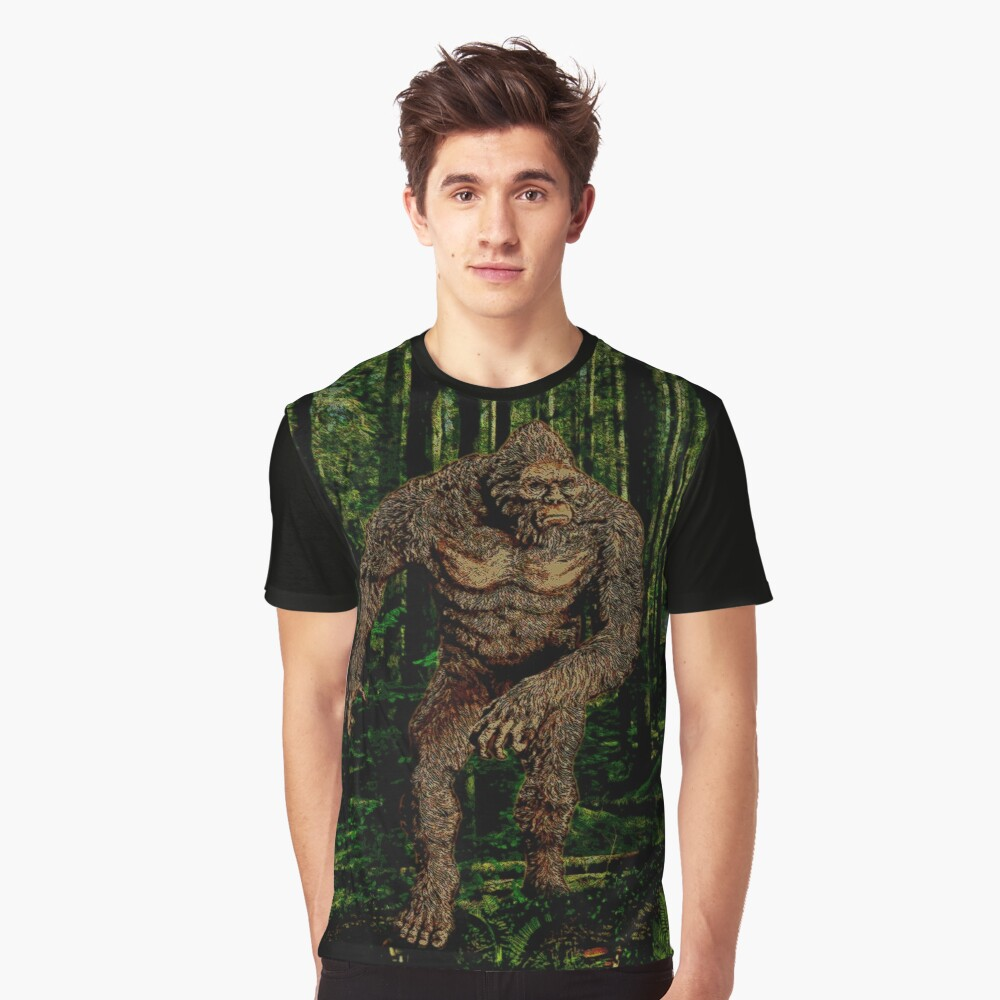 DEEP IN THE FOREST Graphic T-Shirt Front