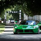 La Ferrari at the Goodwood Festival of Speed by M-Pics