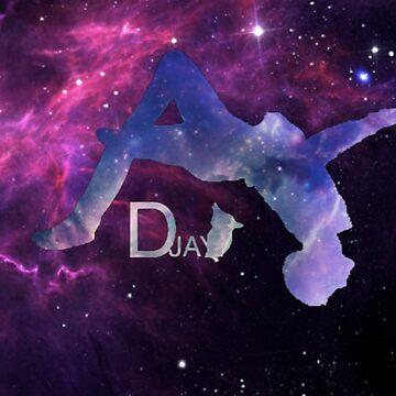 Dylan Jay Parkour Stars On Stars Logo by DZFreerunning