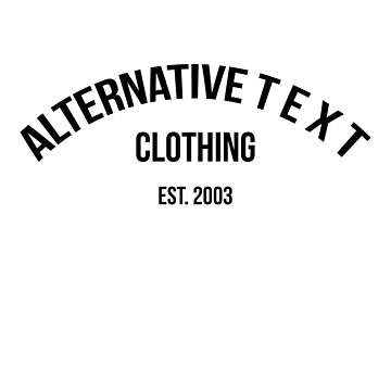 A T - UPPER ROUNDED | Alternative Text co. by AlternativeText