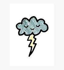 Thunder cloud Photographic Print