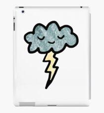 Thunder cloud iPad Case/Skin