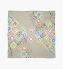 My Groovy Flower Garden Grows Scarf