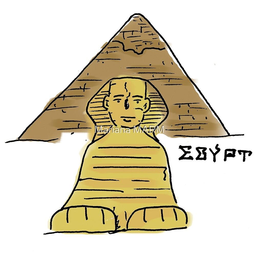 Egypt by Mariana Ramírez