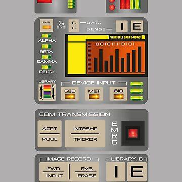 TRICORDER NEXT GENERATION TR-590 by KinkyKaiju