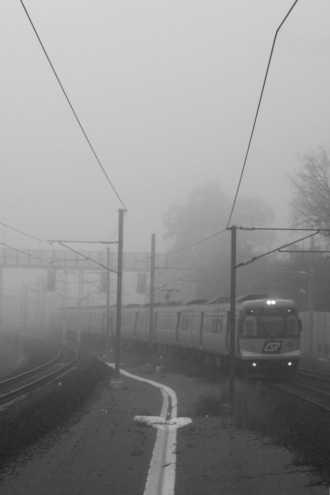 Foggy train by demistified