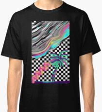 Vaporwave Waves Classic T-Shirt