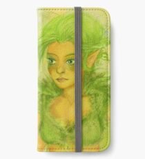 Die Fee Yolanda Luminevien, dein Golden Guard - Fairy  iPhone Flip-Case/Hülle/Skin