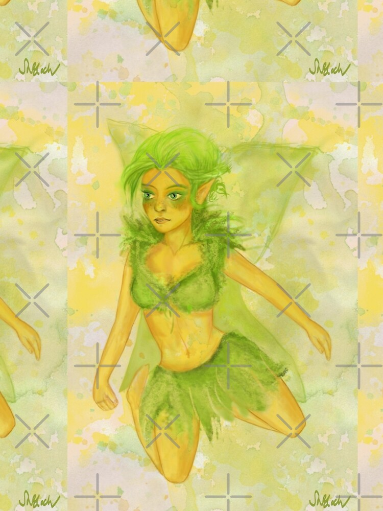 Die Fee Yolanda Luminevien, dein Golden Guard - Fairy  von smoonflowerart