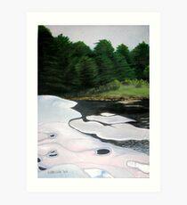 Port Sydney Dam Art Print