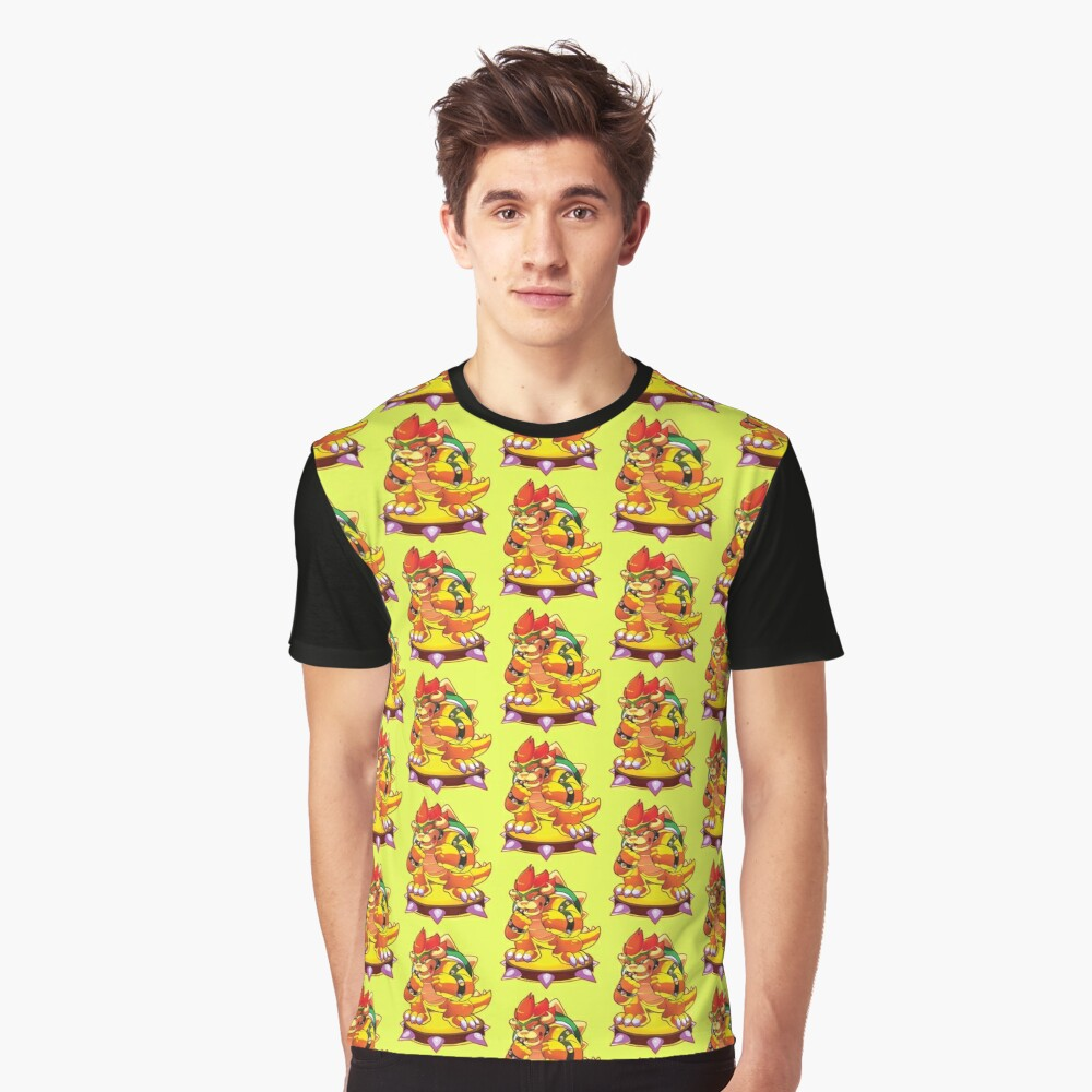 bowser  Graphic T-Shirt Front