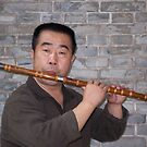 Chinese Flute player by COLINxT