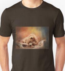 Alaska Brown Bear Winter Slumber T-Shirt