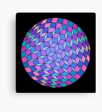 Cube Ball Fourty Two Canvas Print