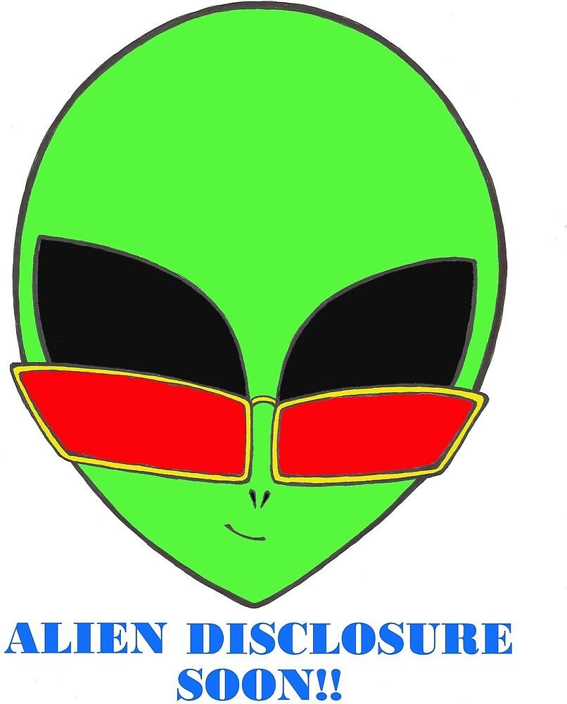 Alien Disclosure soon!! by catmassey2021