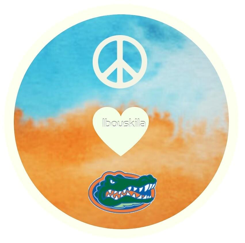 Peace Love Gators by lbouskila