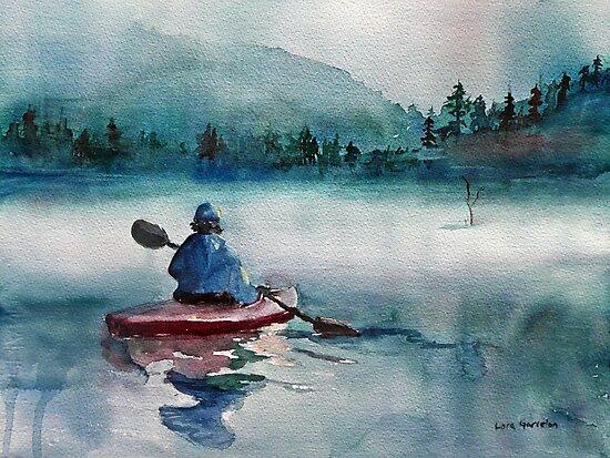 Misty Morning by Lora Garcelon