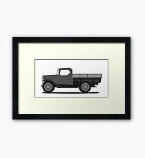 Jalopy Automobile 4 Framed Print