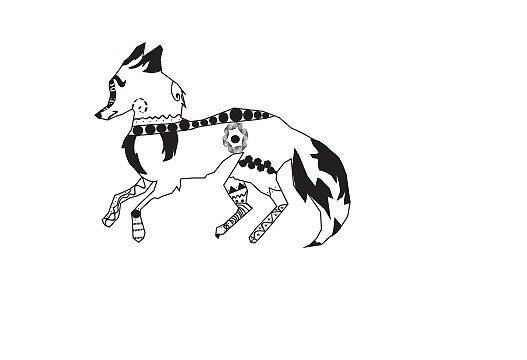 Fox Tribal by Dani Art