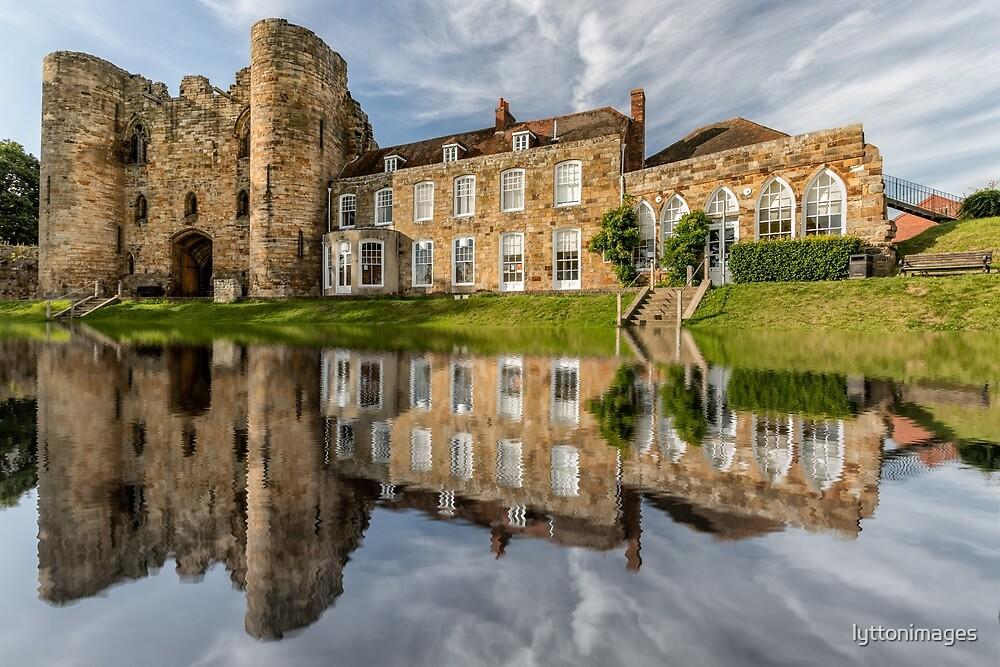 Tonbridge Castle Reflections by lyttonimages