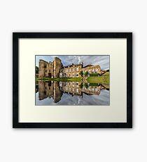Tonbridge Castle Reflections Framed Print